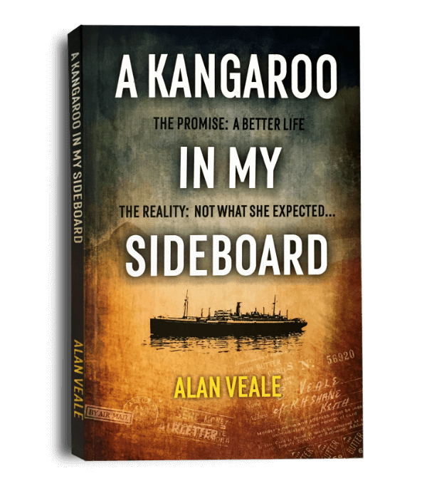 A Kangaroo In My Sideboard Cover For Banner