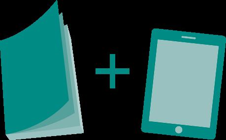 Paperback and E-Book Icon