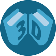 3D-Render Icon