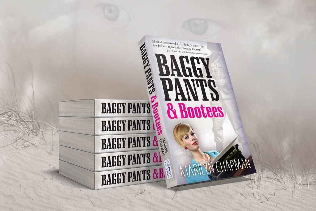 Baggy Pants & Bootees 3D Render