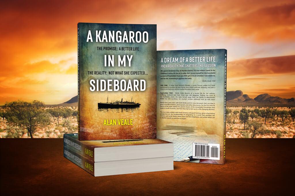 A Kangaroo In My Sideboard 3D Render