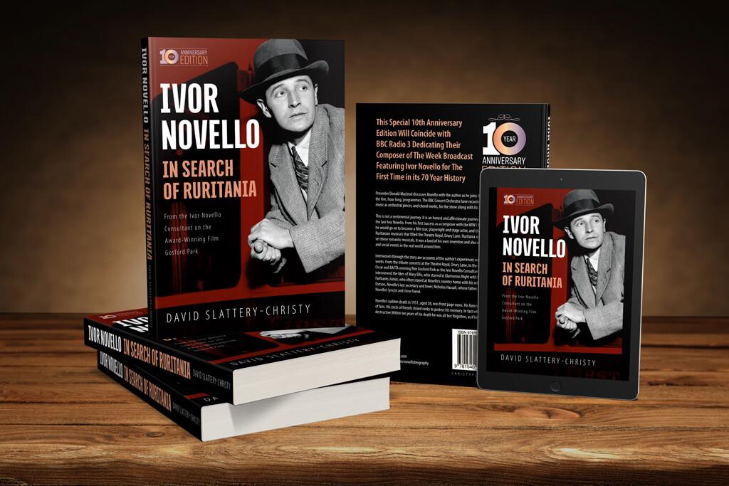 Ivor Novello 3D Render