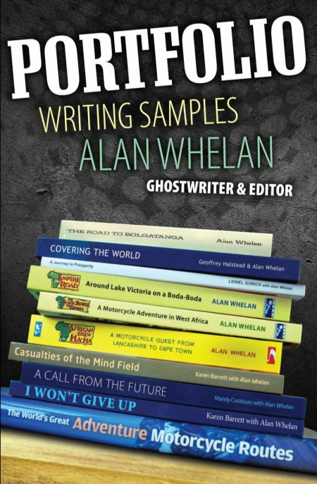 Portfolio Writing Samples by Alan Whelan Book Cover